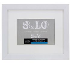 Need 2 div>Durable frame has a contemporary design and looks great in almost any décor. With its white...