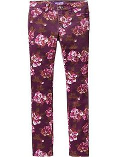 Girls The Rockstar Printed Jeggings