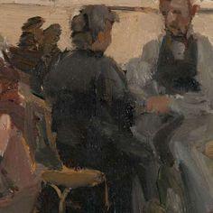 In het Bois de Boulogne bij Parijs, Isaac Israels, ca. 1906 - Rijksmuseum