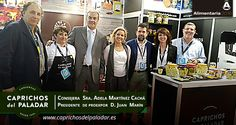 Estupenda  visita y apoyo  de la Consejera de  agricultura  Doña Adela Martínez Cachá y  el presidente de Proexport D Juan Marín, los cuales disfrutaron de una degustación de nuestros productos es nuestr Stand 287 de la Feria de Alimentaria en Barcelona