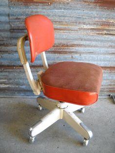 vintage 1950 s steelcase office desk chair pinterest office