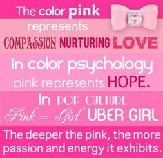 The Meaning Of Pink By Giggle Me Complimentary Colors Gifts Meant To