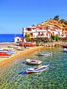 Amazing places - Kokkari, Samos island