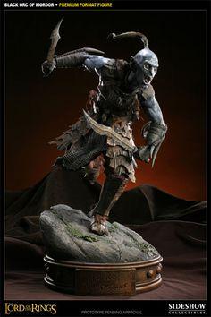 Black Orc of Mordor Premium Format Figure   $254.99