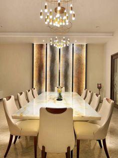 Usine Studio : Architects   Interior Designer   Project Consultants - Vadodara, Gujarat. India Drawing Room Table Designs, Terraced Patio Ideas, Bungalow, Apartment Design, Dining Table, Dining Rooms, Architecture Design, Room Decor, House Design
