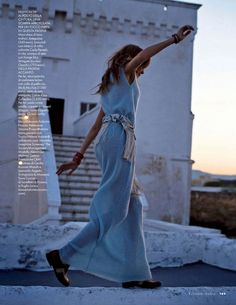 "Josephine Skriver in ""Puglia In Love"" for ELLE Italia, July 2014"