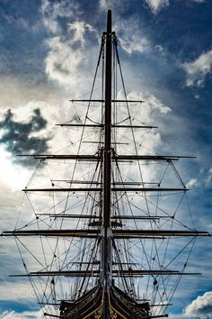 1869 - Cutty Sark, docked in Greenwich, London