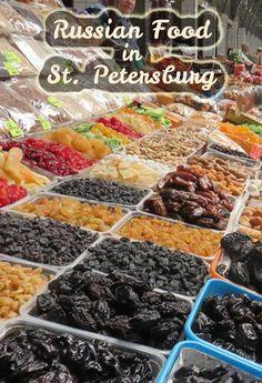 Russian Food in St. Petersburg