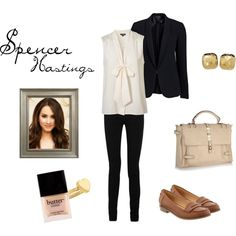 Spencer Hastings, a Pretty Little Liars Inspired Outfit - preppy college outfit | preppy school outfit