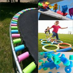 Use Your Noodle (upcycled pool noodles)