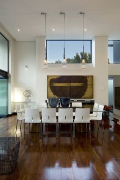 House Mosi | Dining | Nico van der Meulen Architects | M Square Lifestyle Design  #Furniture #Painting #Contemporary