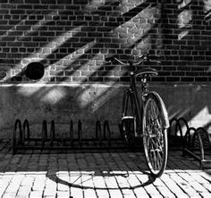 Image detail for -... & White Wednesday – Bike in Light & Shadow | the lazy photographer