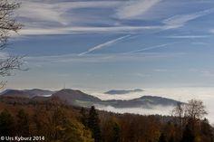 In der Natur unterwegs: Herbstwandern über dem Nebel #Jura #wandern #Schweiz