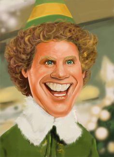 Will Ferrell as Buddy the Elf.