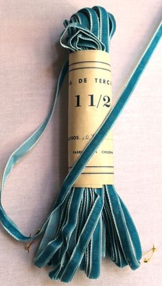 Vintage velvet ribbon ... seriously, I don't think there is anything lovelier than velvet ribbon.