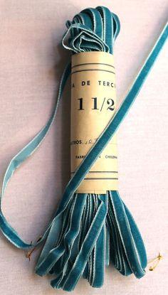 Vintage velvet ribbon ... seriously, I don't think there is anything lovelier than velvet ribbon.