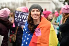"<div class=""meta image-caption""><div class=""origin-logo origin-image none""><span>none</span></div><span class=""caption-text"">Nicole Monceaux from New York City, attends the Women's March on Washington on Saturday, Jan. 21, 2017 in Washington. (Sait Serkan Gurbuz/AP Photo)</span></div>"