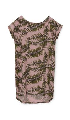 Pink Palm Dress - Plümo Ltd
