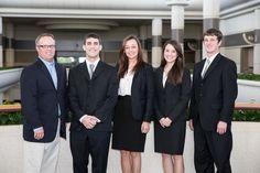 University of South Carolina team and adviser: Todd Koesters, Todd Miller, Alexandra Maun, Samantha Vasknetz & Wayne Alexander