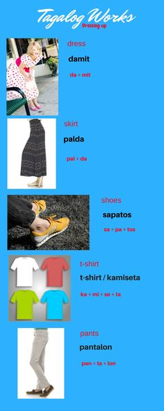 learn Tagalog speak Tagalog Filipino learn Filipino Philippines How to Tips lesson 2018 new learn tagalog fast learn tagalog for beginners Skirt Pants, Dress Skirt, Tagalog Words, Nouns And Pronouns, Filipino Culture, Languages, It Works, Passion, Learning