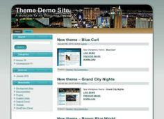 Wordpress Themes - Blue City Wordpress Theme Download #wordpress #wordpressthemes #city