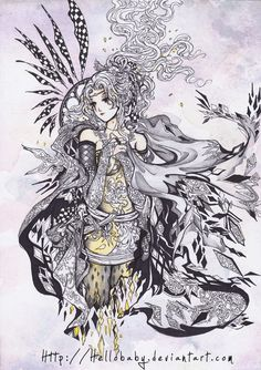 Terra Branford - Final Fantasy VI by `Hellobaby---My daughter is named after her :-)