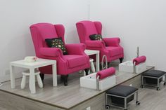 Our 2 pedicure stations