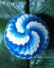 """Stunning 4"""" Handmade Japanese Temari Ball"""