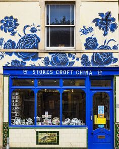 Stokes Croft China Bristol England United Kingdom  www.alamy.com/image-details-popup.asp?ARef=G1XB5B  #shop #stokes #croft #china #art #background #wall #mural #flower #design #wood #vintage #floral #texture #day #street #color #plant #painting #aged #garden #paint #drawing #creative #drawn #artistic #trendy #decorative #decoration #painted