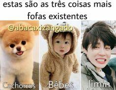 Os três são os mais adoráveis do universo inteiro! Bts Memes, Jikook, Bts Bangtan Boy, Bts Jimin, Bts Imagine, I Love Bts, Bulletproof Boy Scouts, Funny Faces, Bts Wallpaper