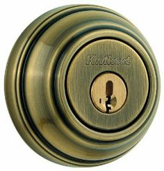 Kwikset 985 5 SMT Double Cylinder Deadbolt Featuring SmartKey, Antique Brass by Kwikset. $45.27. From the Manufacturer                Step up to designer styles and superior security with Kwikset Signature Series products. The 985 deadbolt is both tough and attractive. The complementary Antique Brass finish offers a warm feel with deep accents in the contours of the product. This double cylinder deadbolt is operated by a key on both sides Smartkey Re-key Technology allows you t...