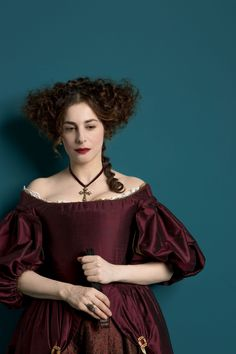 Amira Casar as Béatrice de Lorraine in Versailles (TV Series, 2015). Promotional Pictures Saison 1