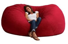 This huge XXL bean bag that you never have to leave. | 39 Impossibly Trippy Products You Need In Your Home
