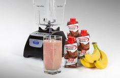 Banana Protein Smoothie, High Protein Smoothies, Protein Smoothie Recipes, Protein Coffee, Pure Protein, Fruit Smoothies, Premier Protein Shakes, Premier Protein Diet, Snacks