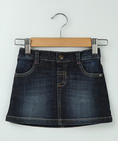 Denim Blue Circle Skirt - Infant, Toddler & Girls