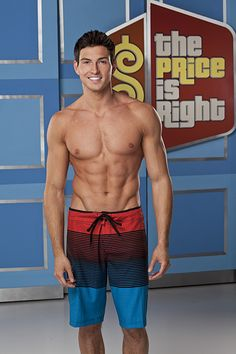 Rob Wilson, 1st Male Model on The Price is Right! Makes that show even more worth watching :)