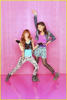 Bella and Zendaya (hollywood)