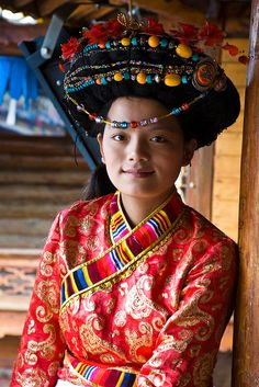 Yunnan - Mosuo Minority Woman | Sean Maynard via Flickr - Known to many as the 'Kingdom of Women,' the Mosuo (Chinese: 摩梭; pinyin: Mósuō), are a small ethnic group living in Yunnan and Sichuan provinces in China ... #world_cultures
