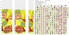 20 b. Crochet Bracelet Pattern, Loom Bracelet Patterns, Bead Crochet Patterns, Bead Crochet Rope, Peyote Patterns, Loom Patterns, Beading Patterns, Beaded Crochet, Diy Crafts Crochet
