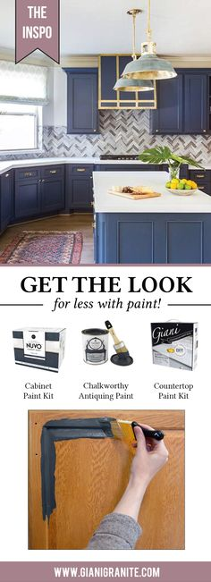 Calling all lovers of navy blue!! We've got the perfect kitchen for you!