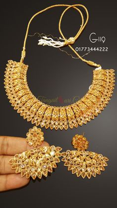 Gaye Holud Jewelry  Gaye HoludGoyna Gaye HoludJoypuri Gold Plated Jewelry Gaye Holud ornaments Gaye Holudgohona Holudgohona Design  A huge collection of Gaye Holud Jewelry you will find from us according to thr demand of current fashion. Latest and modern Gaye Holud Jewelry design is always updated in our website. If you have any favorite jewelry design which you want to get, just send it to our facebook page www.facebook.com/TangailSaree.Sari/ and we will provide that jewelry within a short…