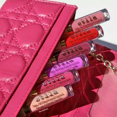 Stila lip stain collection