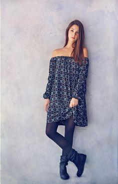 We <3 this dress! BADILA FW1516 -Fall Into Style Collection- Shop > Badila.gr