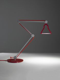 Heron Lamp by Enrico Azzimonti for Bilumen. - Design Is This Contemporary Light Fixtures, Modern Contemporary, Modern Design, Ecology Design, Italian Lighting, Task Lamps, Light And Shadow, Lamp Design, Light Shades