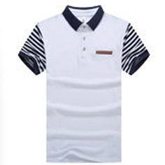 TANGNEST Business Polo 2018 Summer Slim Striped Men Polo Shirt Hot Sale Short-sleeve Polo Shirt Men Good Quality MTP475