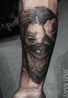 Resultado de imagem para tatuagem de bandida