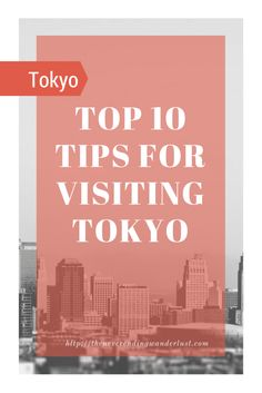 I had a FANTASTIC 10 Days in Tokyo – I ate some great food, saw some cool sights, and had a blast with my old friend Adam! If I ever make it back (and I'd surely love to), there are som…