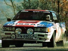 Nissan 240 RS rally car - Group B