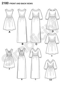 """misses' dress in two lengths with back variations sewing pattern.<br/><br/><img src=""""skins/skin_1/images/icon-printer.gif"""" alt=""""printable pattern"""" /> <a href=""""#"""" onclick=""""toggle_visibility('foo');"""">printable pattern terms of sale</a><div id=""""foo"""" style=""""display:none;"""">digital patterns are tiled and labeled so you can print and assemble in the comfort of your home. plus, digital patterns incur no shipping costs! upon purchasing a digital pattern, you will receive an email with a link to the…"""