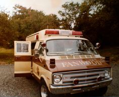 For decades, the standard in ambulances was the Cadillac adapted by Sayers and Scovill, whose signature product, ironically, was a hearse. These vehicles were utilized by the Fanwood Rescue Squad for Ford Ambulance, Dodge Van, Woody Wagon, Emergency Vehicles, Fire Engine, Police Cars, Fire Trucks, Mopar, Recreational Vehicles